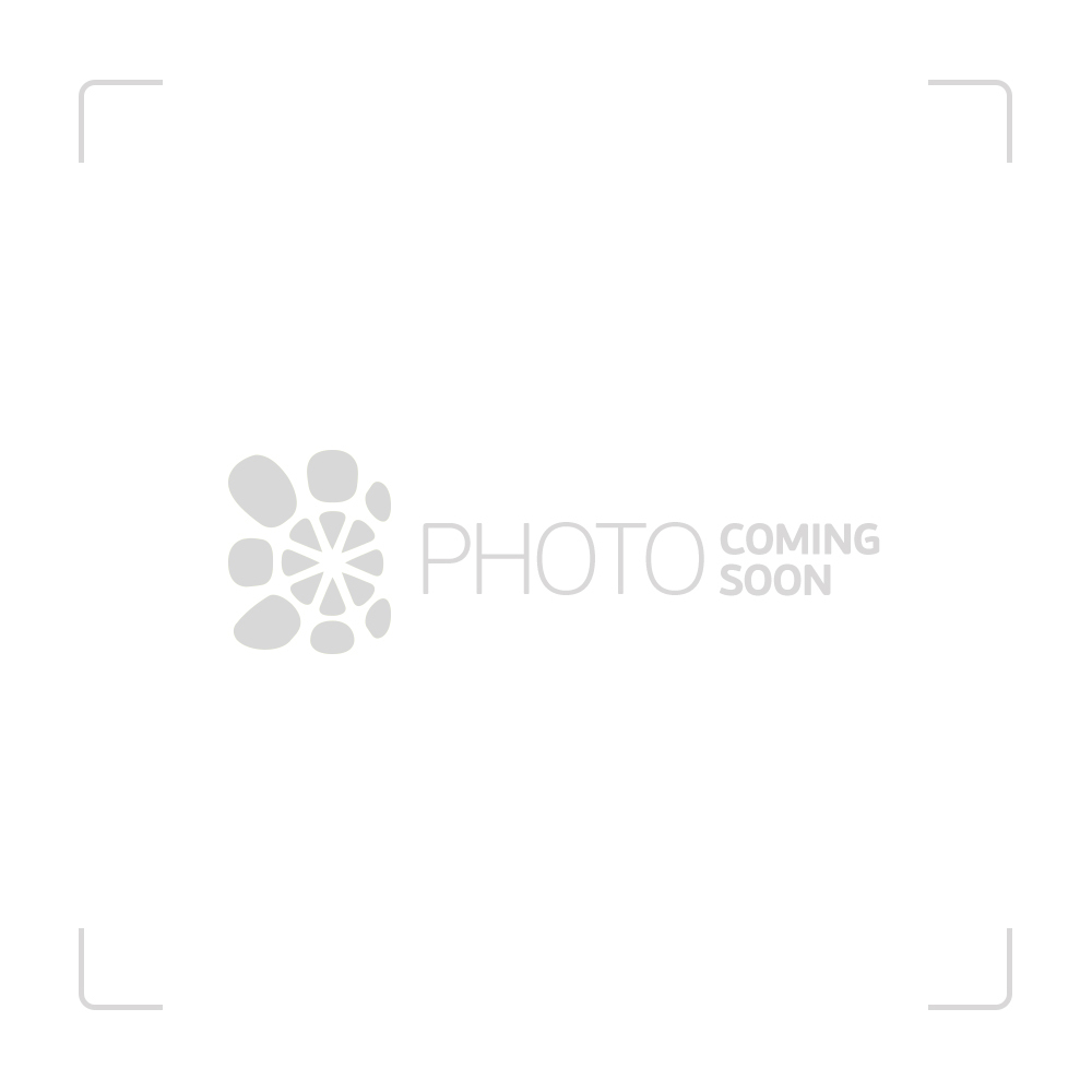 ROOR Little Sista Beaker Base 5mm Glass Ice Bong   Black Logo   45cm - Side View 1