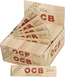 Details about  /Authentic Raw King Size Slim Organic Hemp Rolling Papers Full Box of 50 Packs
